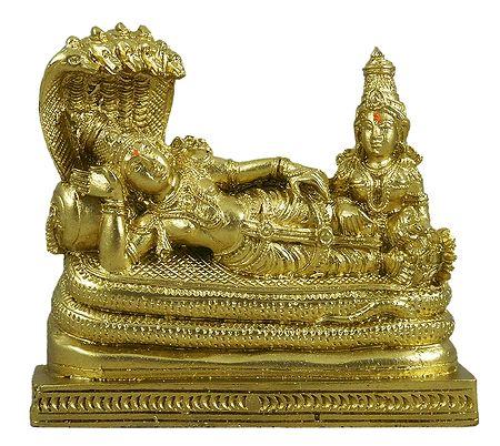 Anantashayan Vishnu with His Consort Lakshmi