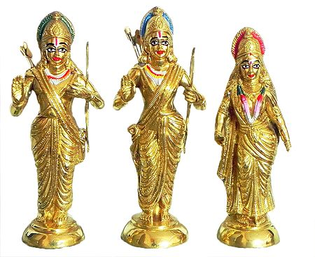 Rama, Lakshmana and Sita