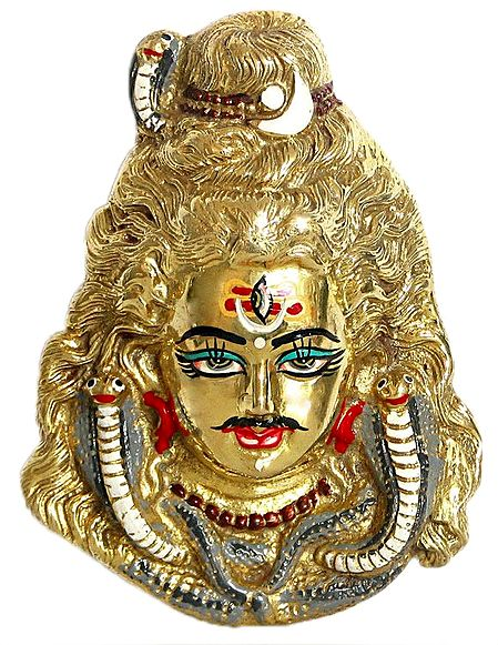 Shiva Face - Wall Hanging