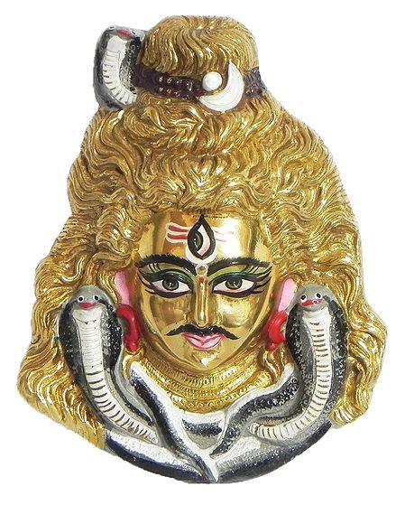 Shiva Face - Wall Hanging