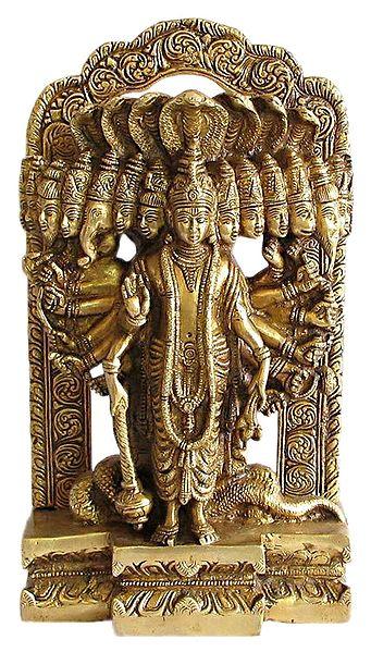 Universal Form of Lord Vishnu - Virat Roop