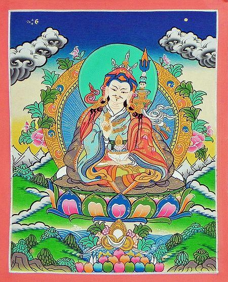 Guru Padmasambhava - Thangka Painting