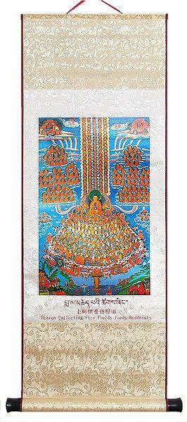Guruparampara (Refuge Tree) - Wall Hanging