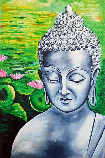 Buddha with Nature