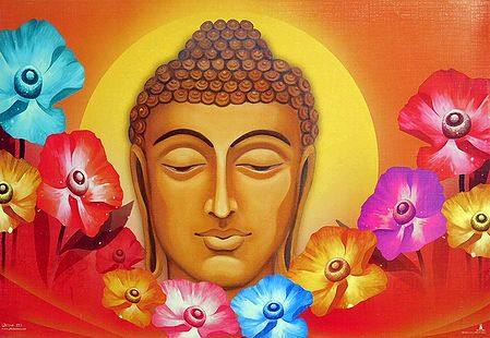Face of Lord Buddha
