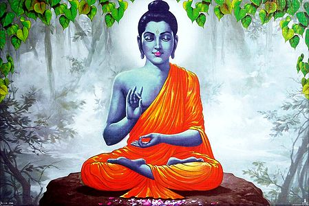 Lord Buddha in Meditation