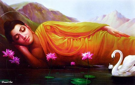 Sleeping Lord Buddha