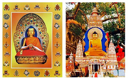 Lord Buddha - Set of 2 Posters - Unframed