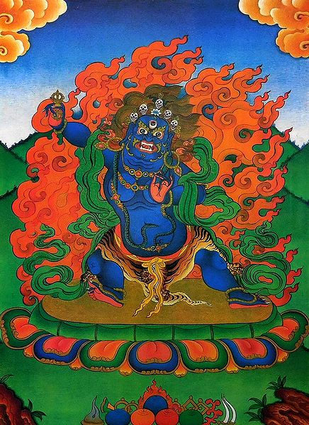 Blue Mahakala