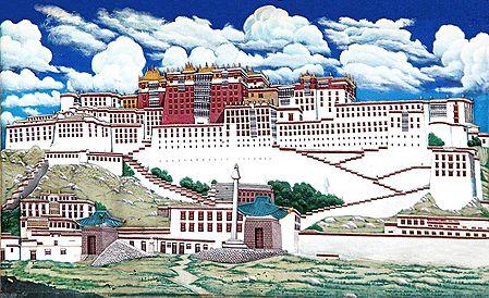 Potala Palace, Lahsa,Tibet