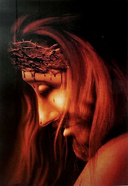 Jesus Christ and Crown of Thorns