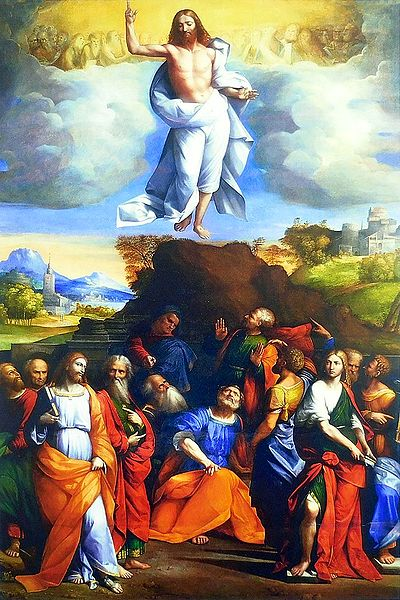 Jesus Christ's Ascension to Heaven