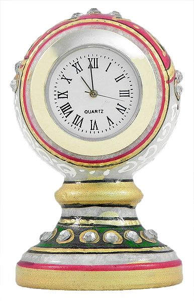 Decorative Marble Table Clock