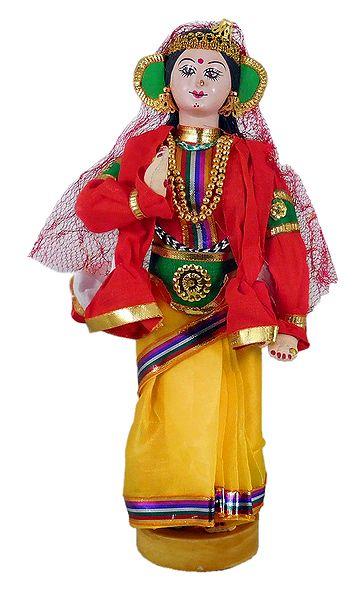 Kathakali Dancer as Draupadi