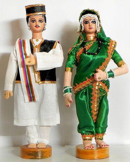 Maharashtrian Bridal Dolls