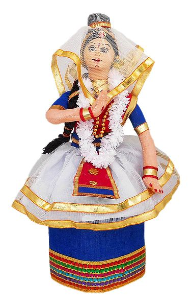 Manipuri Dancer Doll from Manipur