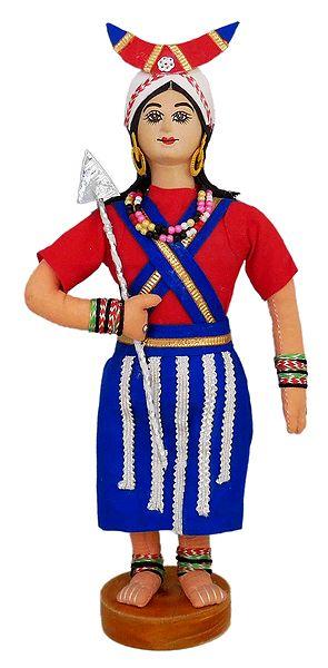 Naga Folk Dancer