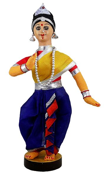 Odissi - Classical Dancer from Orissa - Cloth Doll