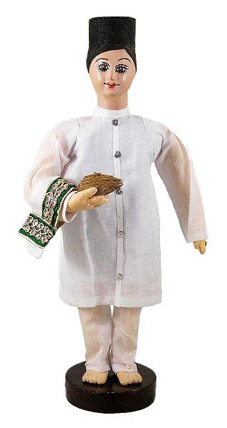Parsi Groom - Cloth doll