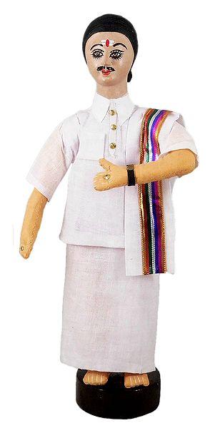 Tamil Man - Cloth Doll