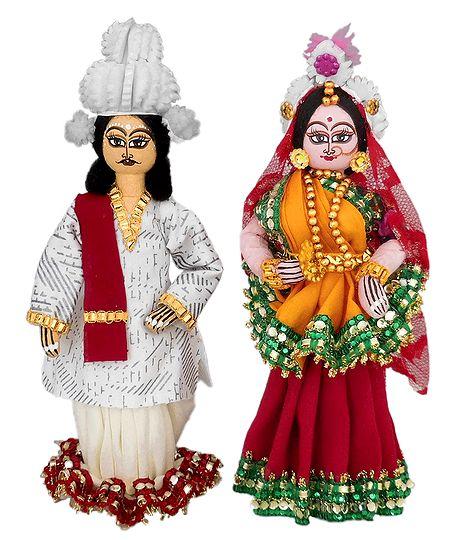 Bengali Bridal Couple