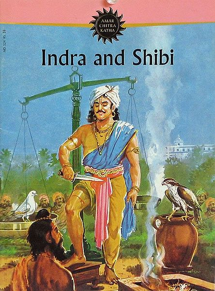 Indra and Shibi