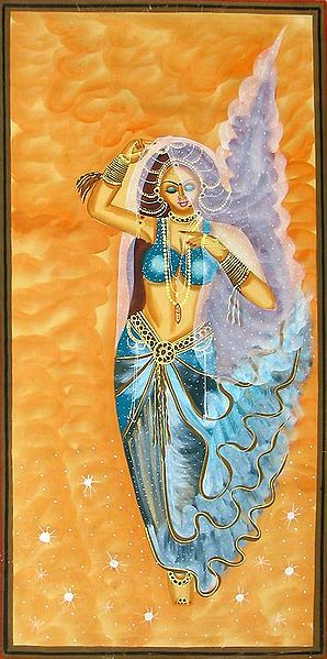Goddess Gangas Descending from the Heaven
