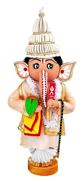 Lord Ganesh as Bengali Bridegroom