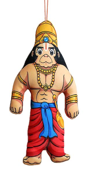 Hanuman - Hanging Cute Cloth Doll