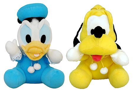 Donald Duck and Pluto
