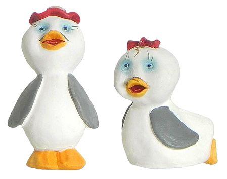 Set of 2 Cute Duckling Pair