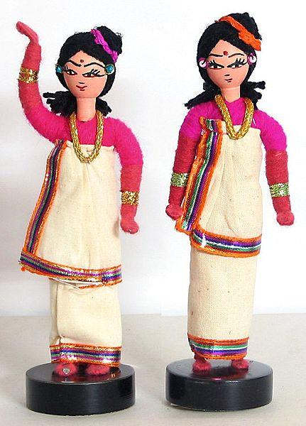 Folk Dancers from Kerala