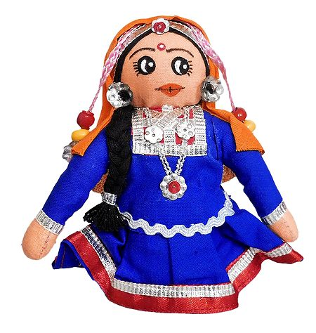 Rajasthani Girl - Cloth Doll