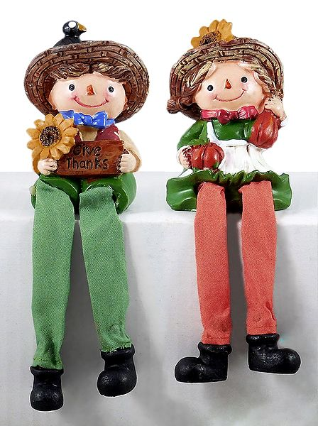 Set of 2 Cute Dolls