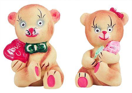 Valentine Teddies - Set of 2