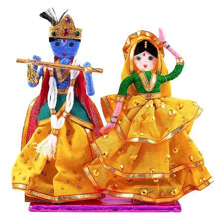 Radha Krishna - Wire Doll
