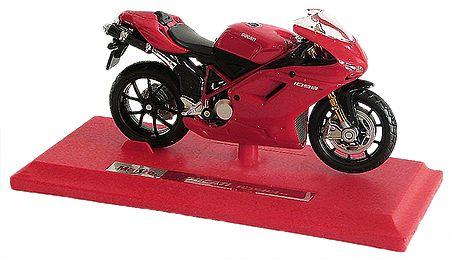 Red Suzuki Motor Bike