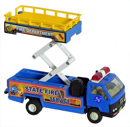 Transportable Toy Crane
