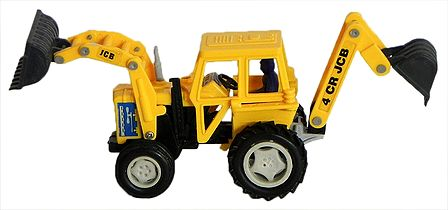 Yellow Toy Earth Mover