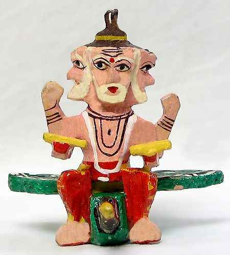 Lord Brahma - (Car Hanging)