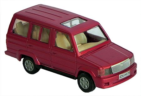 Red SUV Toy Car