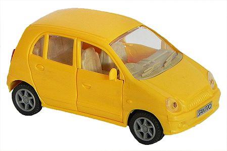 Yellow Santro Car