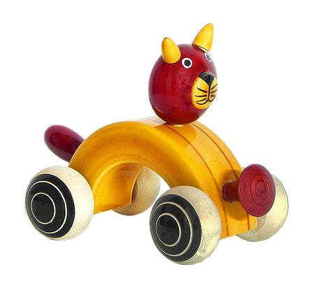 Cat Car - Chennapatna Toy