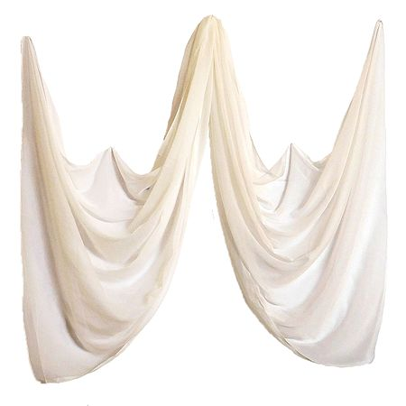 Cream Color Synthetic Dupatta