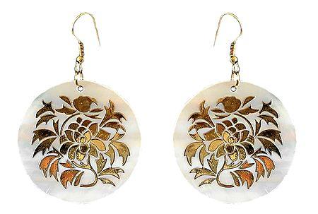 Designer Shell Earrings