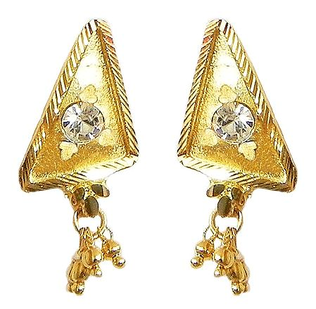 Gold Plated Post Earrings