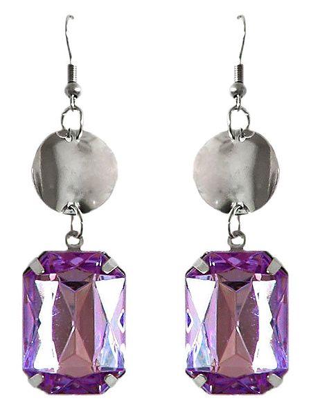 Mauve Stone Earrings