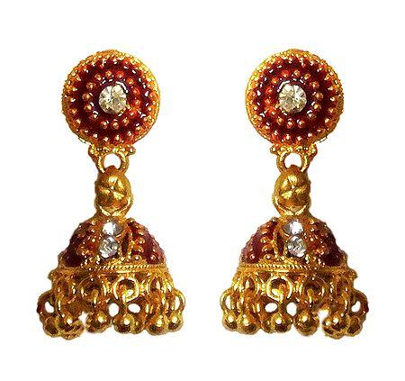 Jhumka Metal Earrings
