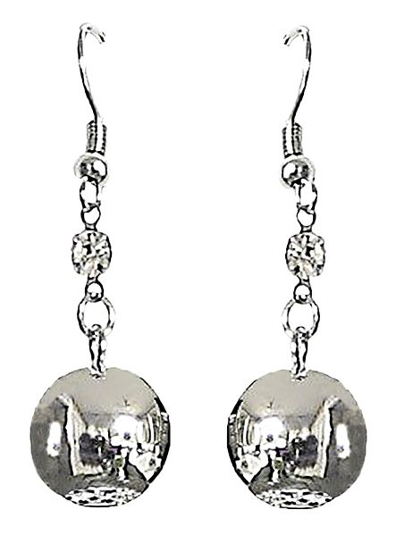 Metal Ball Earrings