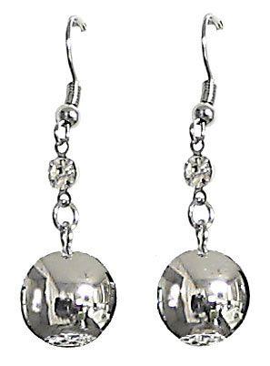 Metal Ball Earrings